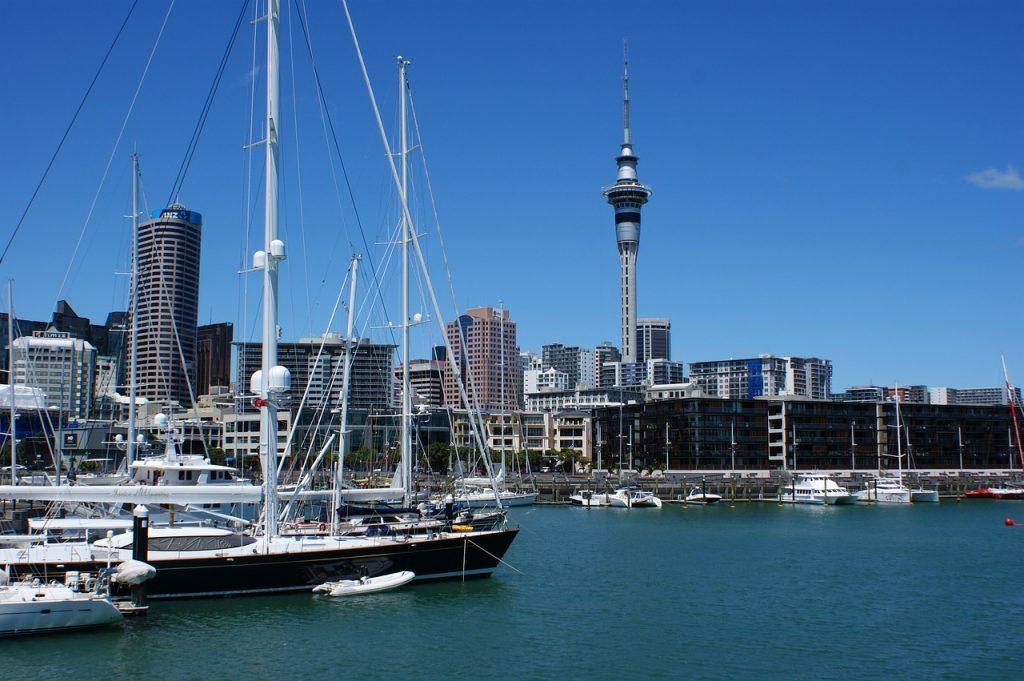 Auckland - steden in nieuw-zeeland