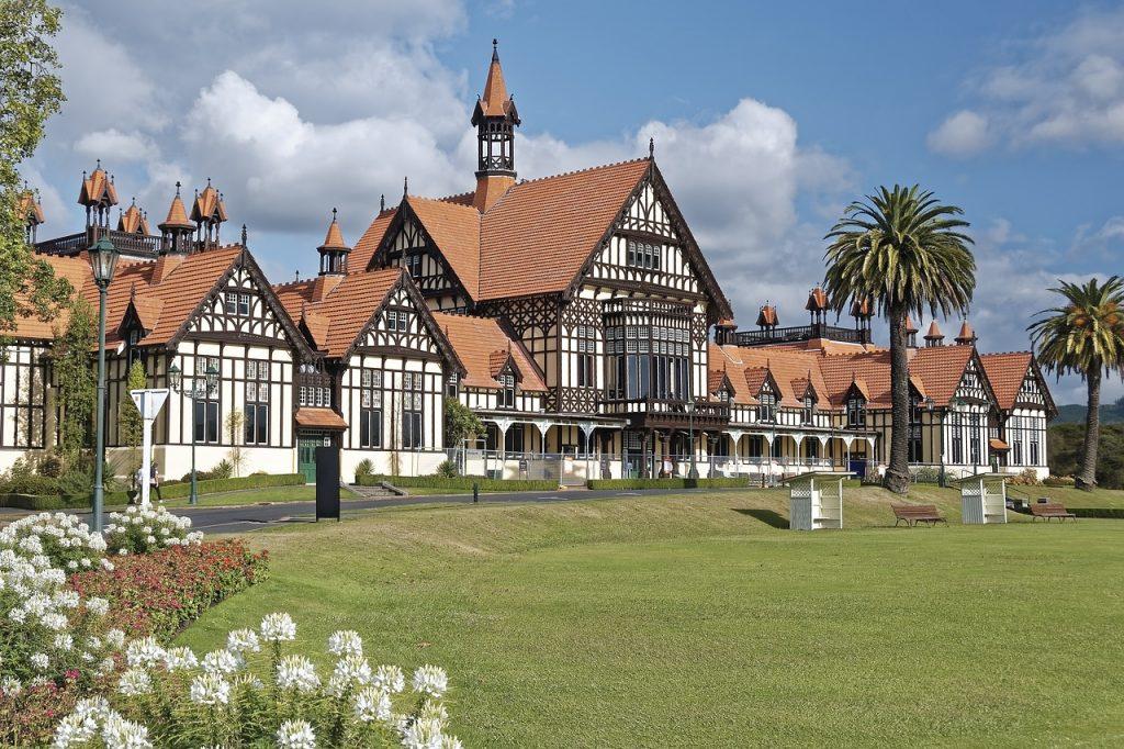 Rotorua - steden in nieuw-zeeland