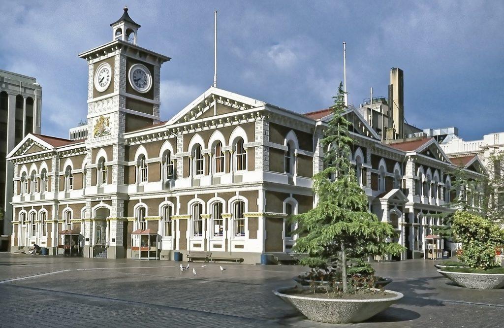 Christchurch - steden in nieuw-zeeland