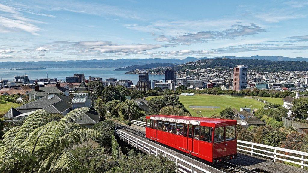Wellington - steden in nieuw-zeeland